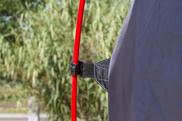 proz deluxe truck tent pole clip detail 8
