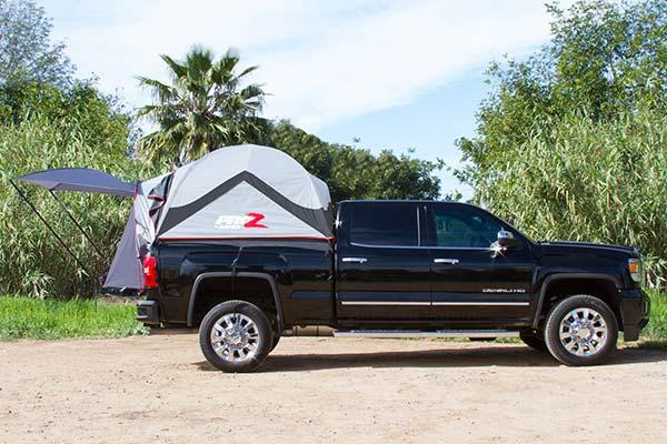 proz deluxe truck tent side profile silverado lifestyle 1
