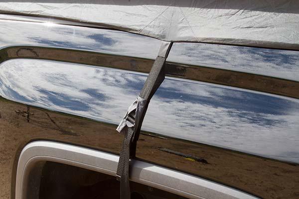 proz deluxe truck tent side tie down 7