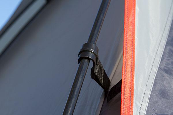 proz premium truck tent pole detail