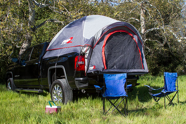 ... proz premium truck tent silverado lifestyle & ProZ 13122 - ProZ Premium Truck Tent - FREE SHIPPING!