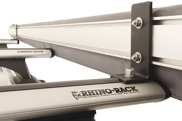 rhino rack universal awning bracket kit installed
