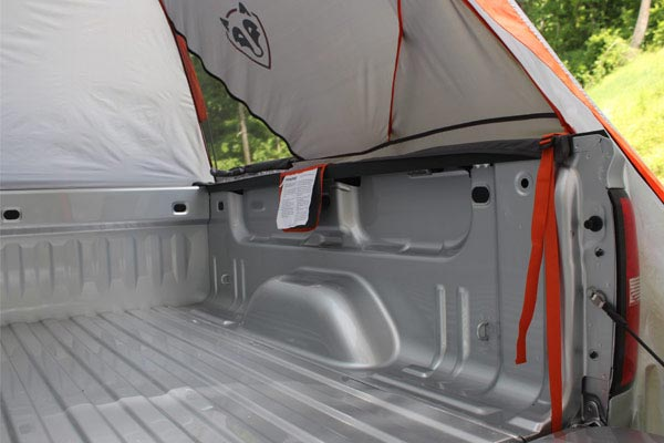 rightline gear truck tent inside truck bed