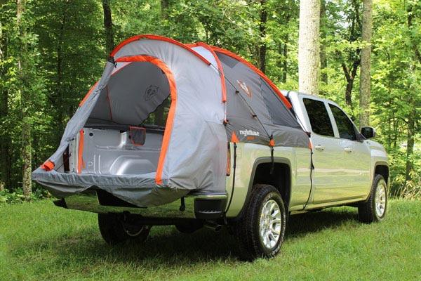 rightline gear truck tent open tent door