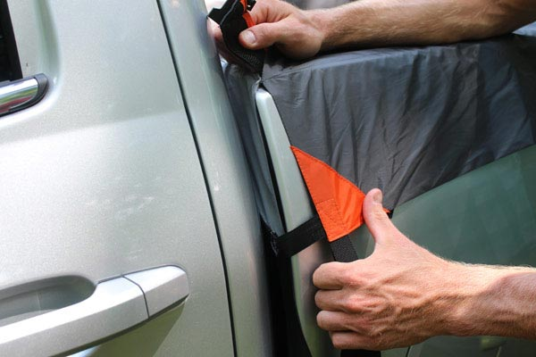 rightline gear truck tent split corners
