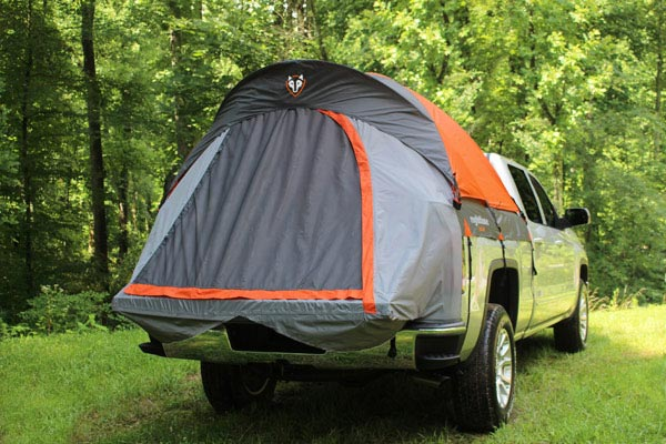 rightline gear universal tents truck tent door closed