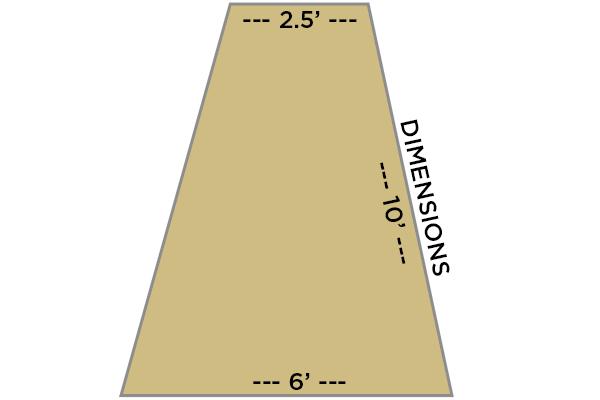 smittybilt gear trail shade dimensions