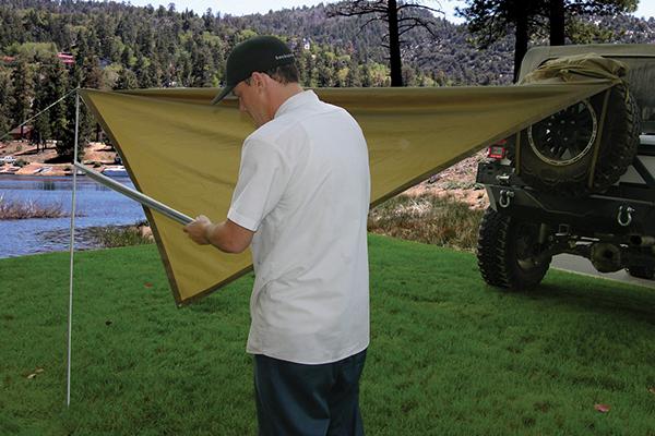 smittybilt gear trail shade install posts