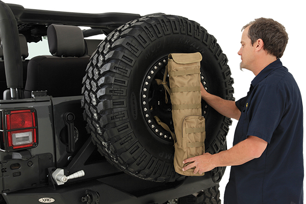 smittybilt gear trail shade stores on spare tire