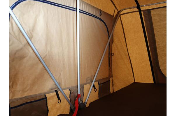 smittybilt overlander rooftop tent poles
