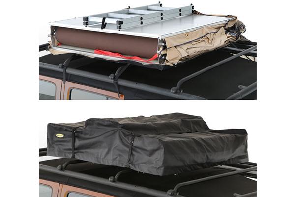 smittybilt overlander rooftop tent travel bag