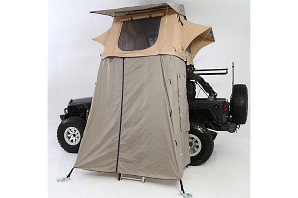 smittybilt overlander tent annex closed