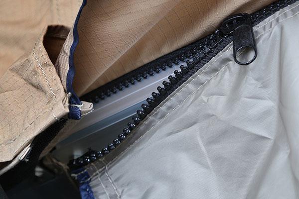 smittybilt overlander tent annex zipper