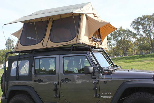 & Tuff Stuff Overland 5 Person Elite Roof Top Tents