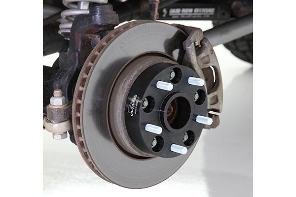 g2 wheel spacers installed