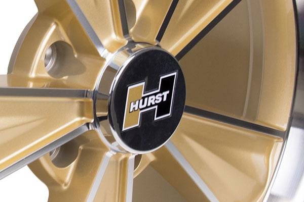 hurst wheel center cap installed