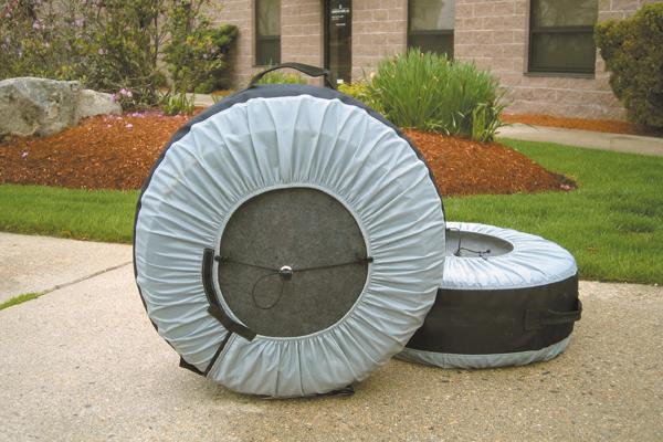kurgo wheel felts installed