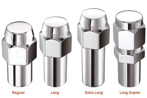 mcgard shank style lug nuts styles
