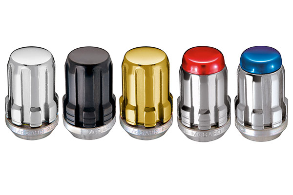 mcgard splinedrive cone seat lug nuts colors
