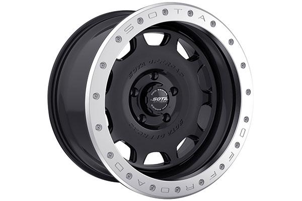 sota pro series trim ring 5 lug installed