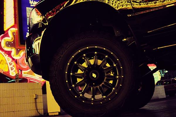 LRG103 Black Machined R4