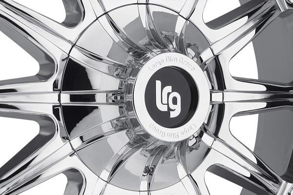 LRG103 chrome center cap