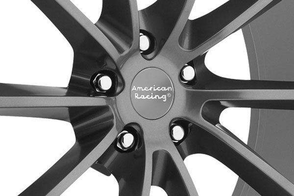 american racing fast back wheels center