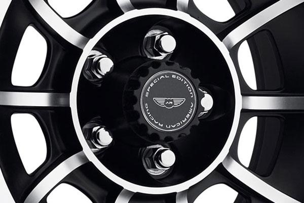 american racing vector wheels center