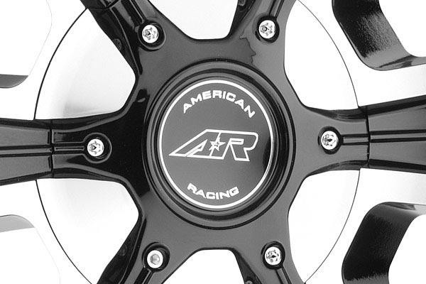 american racing ar894 wheels center cap