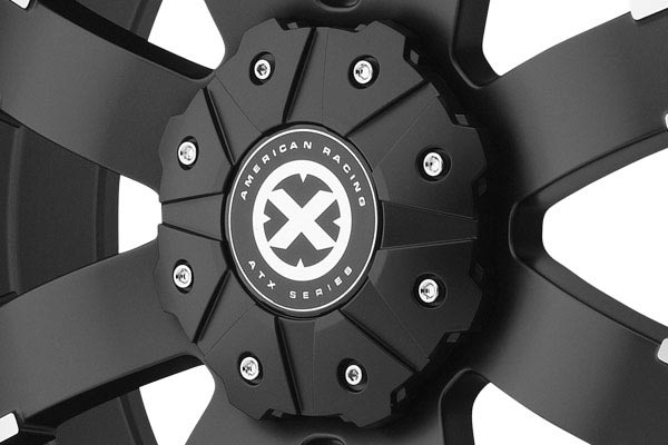 american racing atx series ax191 shackle wheels center cap