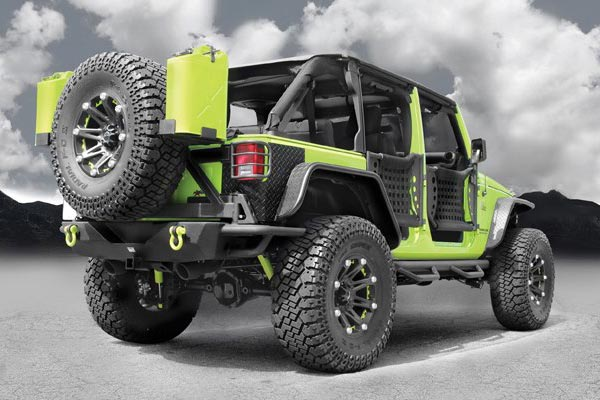 ballistic off road 814 jester green jk installed