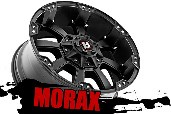 ballistic off road 845 morax wheels angle