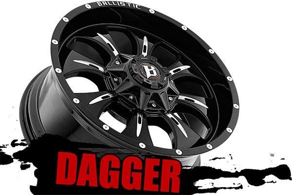 ballistic off road 951 dagger wheels name