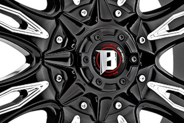 ballistic off road 953 scythe wheels center cap
