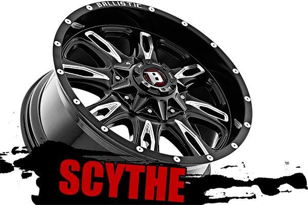 ballistic off road 953 scythe wheels name