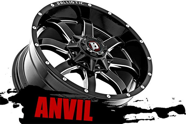 ballistic off road 955 anvil wheels name