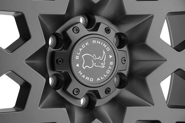 black rhino sprocket wheels center