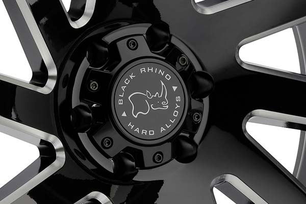 black rhino thrust wheels center