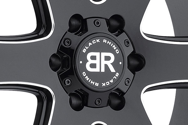black rhino haka wheels center