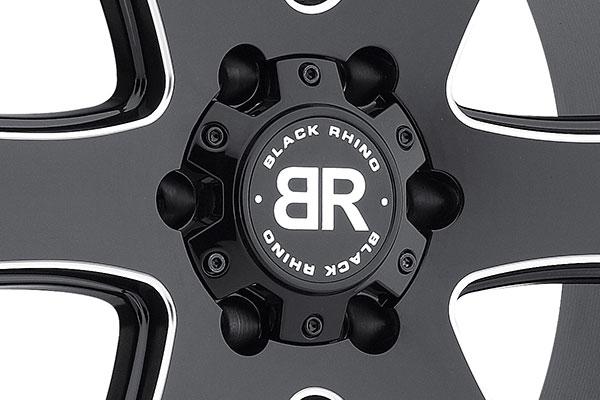 black rhino haka wheels center