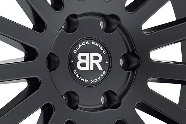 black rhino spear wheels center