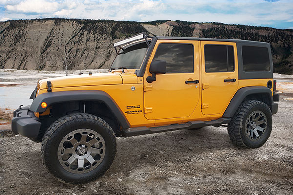 black rhino warlord wheels jeep yellow