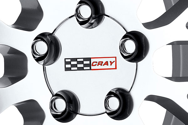 cray manta wheels center cap