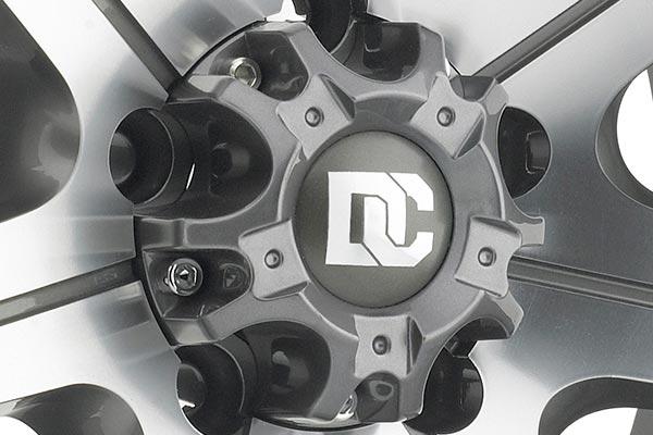 dick cepek gun metal 7 wheels center cap