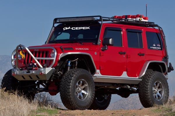 dick cepek gun metal 7 wheels jeep lifestyle