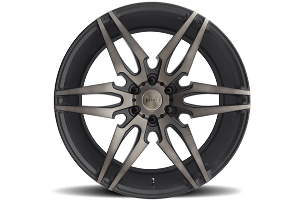 dub attack 6 wheels black face