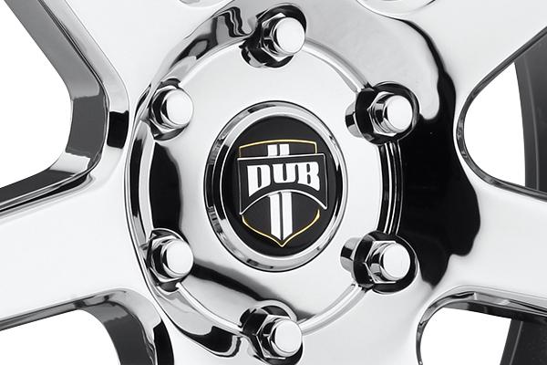 dub future wheels center cap