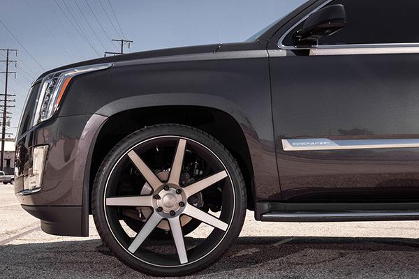dub future wheels escalade detail