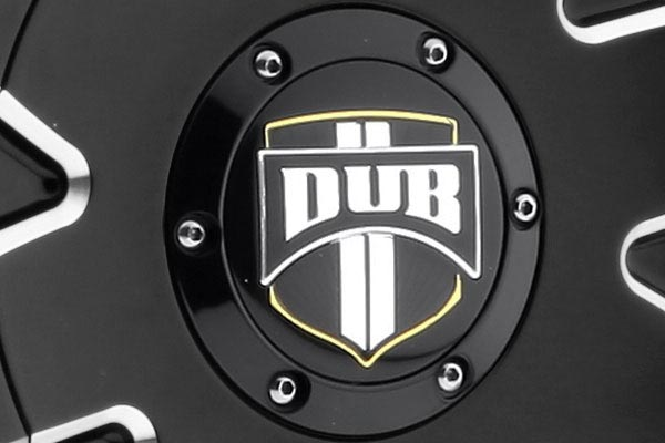 dub push wheels center cap