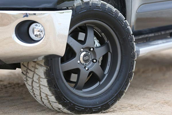 enkei st6 truck and suv wheels toyota tundra lifestyle detail